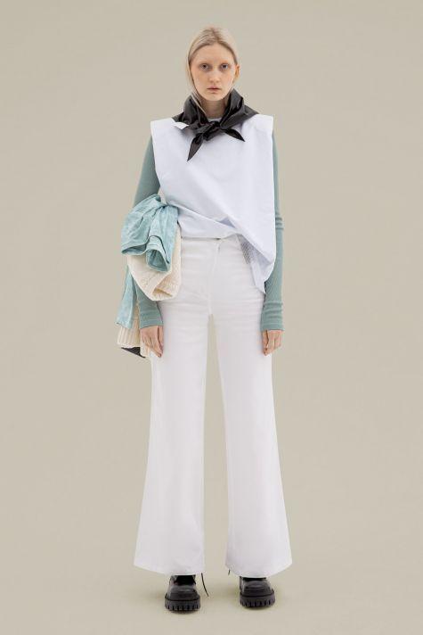 Asymmetrical trousers