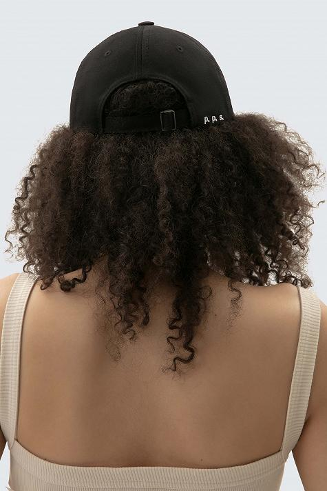 cotton cap with embroidery